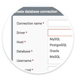 Integration with your database